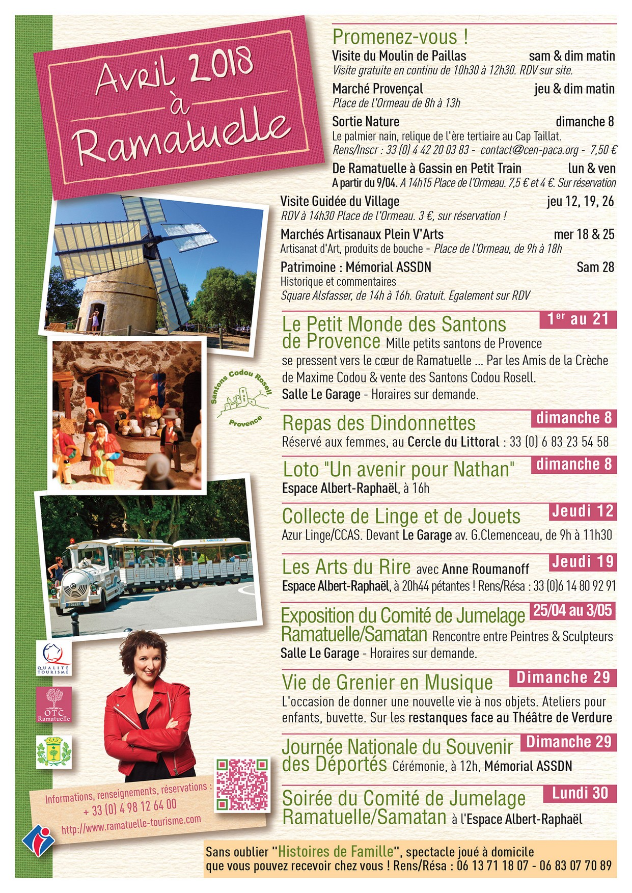 Brochures office de tourisme et de la culture ramatuelle - Office de tourisme de ramatuelle ...